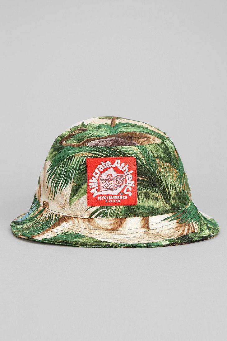 3a02ae152b31f Milkcrate Bucket Hat Athletics dino bucket hatMilkcrate Figueroa Bucket Hat