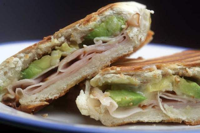 Avocado, Turkey and Brie PaniniAvocado Paninis, Brie Paninis Just, Marbles Rye, Gluten Free, Avocado Turkey Bri Paninis, Brie Paninis Yum, Flavored Melted, Favorite Food, Sounds Yummy