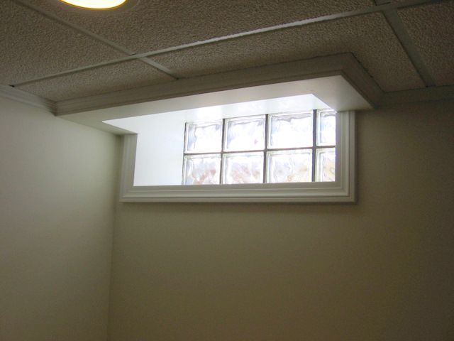 Drop Ceiling Basement Window Finish Around Basement Tilt