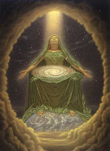 ")O( ""The birthing of the feminine in all her glorious forms and expressions is upon us. She does not seek domination over the masculine. Nor does she wish to be masculine. She is ready to take her seat."" --Karen Chrappa"