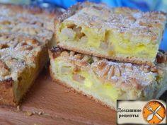 Пироги с фруктами бывают вкусными и очень вкусными. Вот этот песочный пирог с яблоками как раз и есть очень вкусный! И это без преувеличений. Очень нежная основа прекрасно сочетается со сметанной заливкой и начинкой из яблок. А верхний хрустящий слой из «цветов» завершает это кулинарное великолепие. Нет, словами это невозможно объяснить. Пирог обязательно нужно печь и пробовать самому! Ингредиенты Для теста: 1. Масло сливочное — 200 гр 2. Мука — 2+1/3 стакана 3. Соль - щепотка 4. Яйцо - ...