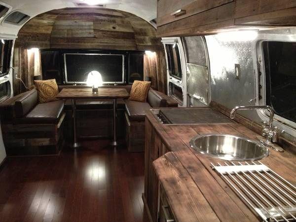 688 Best Airstream Interiors Images On Pinterest