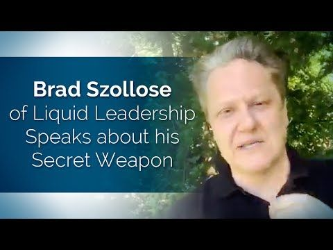 New on my channel: .@bradszollose of Liquid #Leadership Speaks about his Secret Weapon .@TheDovBaron  https://youtube.com/watch?v=zkpOFDprS-g