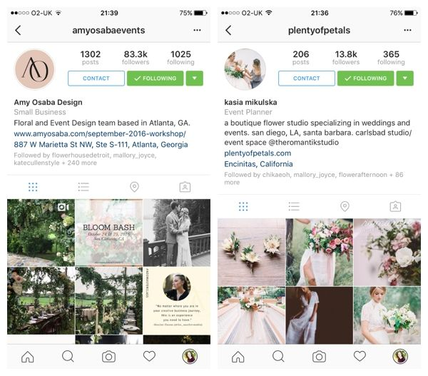 Flowerona Tips : Convert your Instagram account to an Instagram Business Profile…
