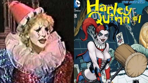 Arleen Sorkin and Harely Quinn ; Real Life Inspirations Behind Some of the Best Comic Book Villains