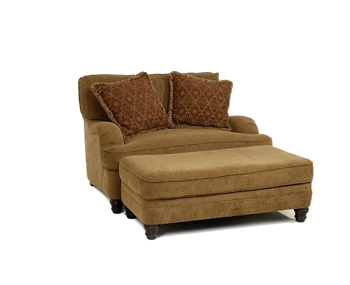 Bernhardt Quot Tarleton Quot Loveseat With Ottoman Star Furniture