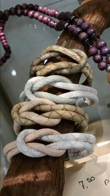 Knoop armbanden