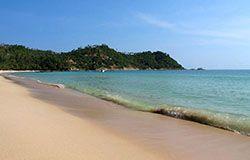 Phangan island north of Koh Samui.
