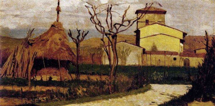 Odoardo Borrani - Casolari a Piagentina