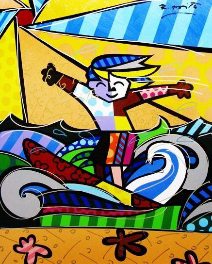 63 best Romero Britto (Fine Art Prints) images on Pinterest | Art ...