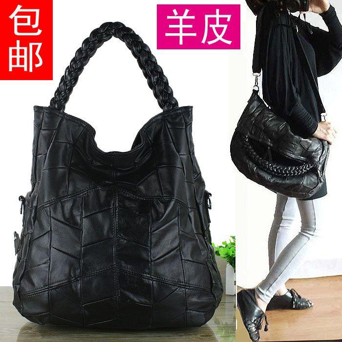 Nuovo 2016 di modo genuino donne borsa in pelle patchwork di pelle di pecora sacchetto famoso di marca di alta qualità delle donne del sacchetto di spalla delle donne tote in   Dettagli del prodotto                                        da Top-handle borse su AliExpress.com | Gruppo Alibaba