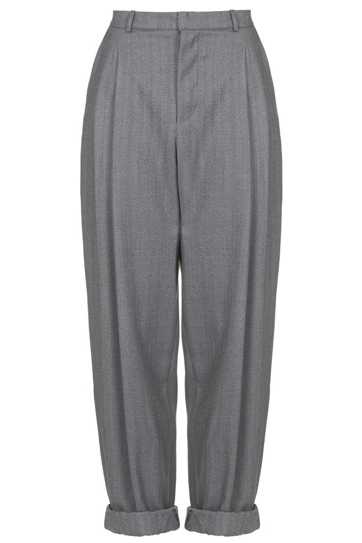 Tweed Wool Mensy Trousers by Boutique