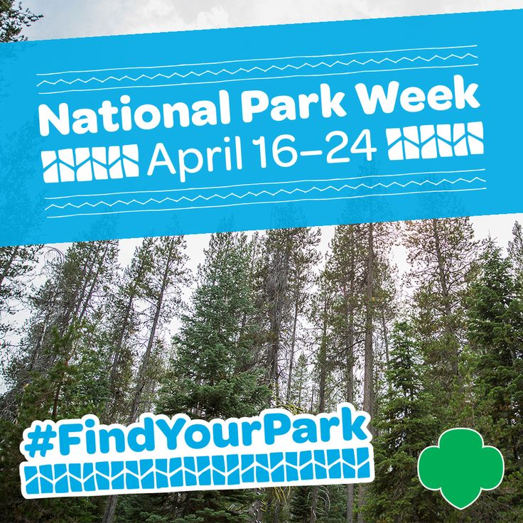 It's National Park Week! #FindYourPark today :)