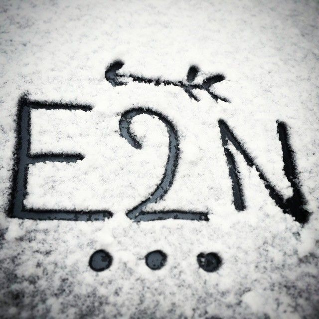 First snow #snow #schnee #arrow #e2n #winter #december