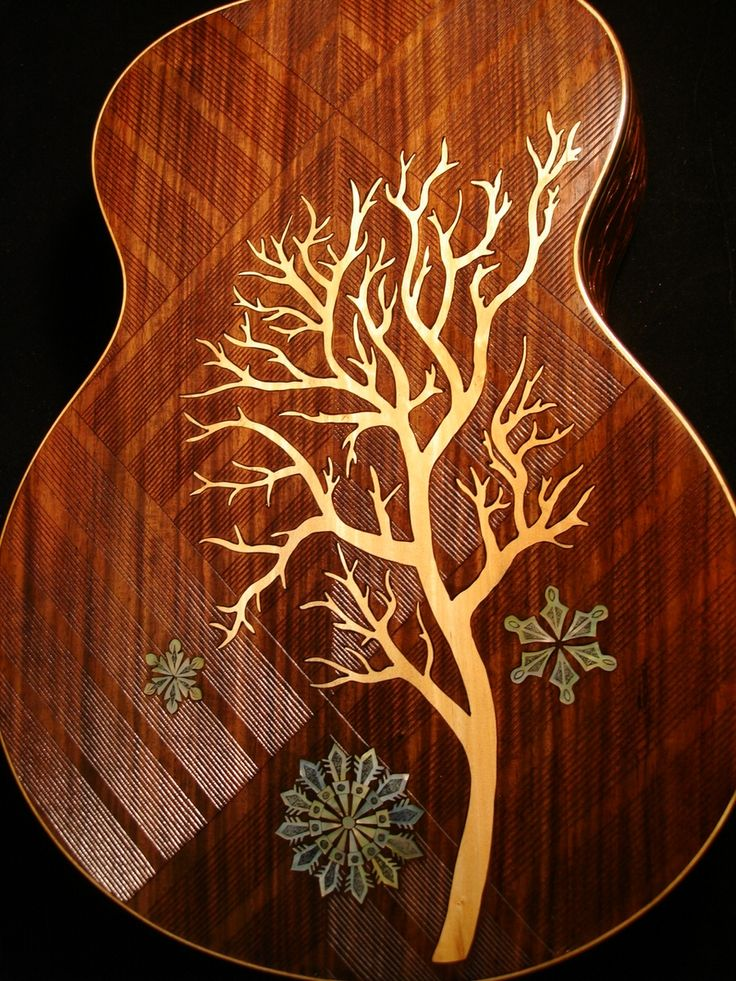 """Blueberry """"Winter"""" Acoustic Guitar"""