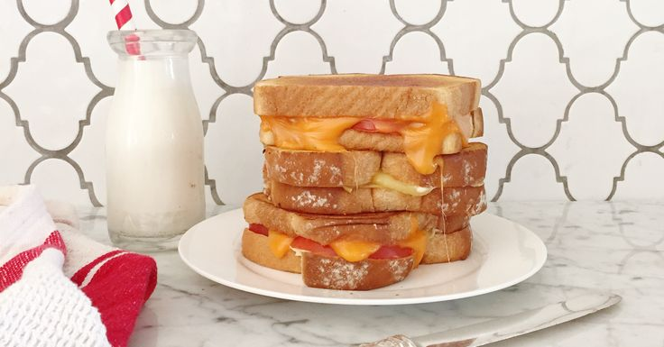 Italian Grilled Cheese - An old classic with an Italian twist.