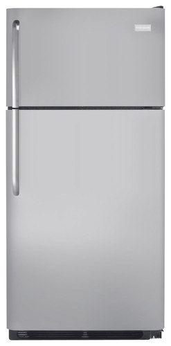 Frigidaire - 20.5 Cu. Ft. Top-Freezer Refrigerator - Silver Mist