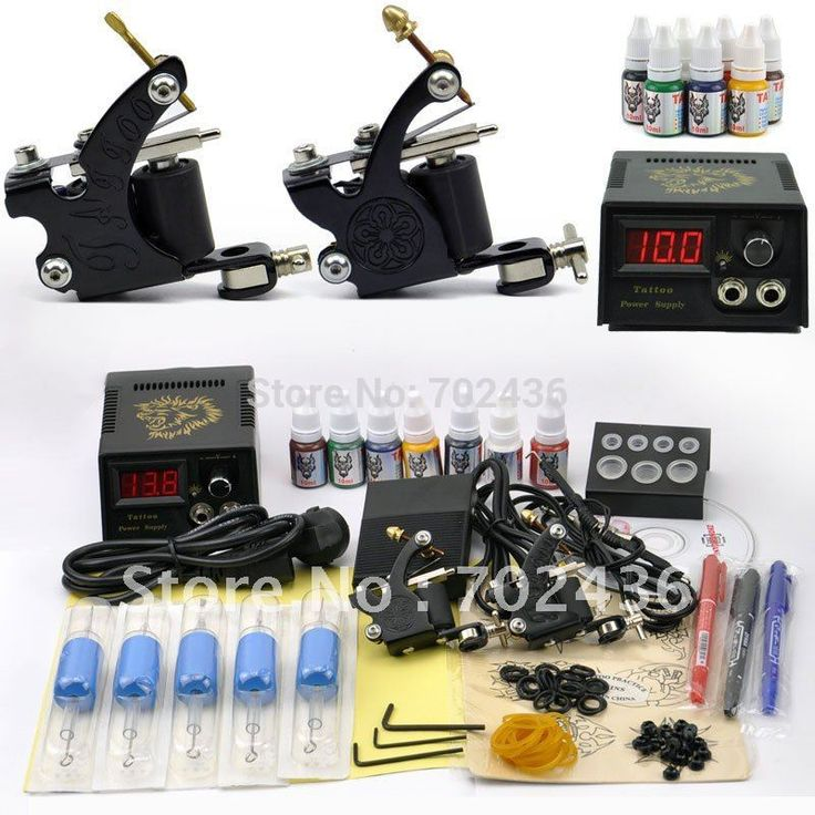 Professional Tattoo Kit Set 2 Tattoo Machine Guns 7 Color Inks Power Supply body art DHL or EMS Free shipping Nail That Deal http://nailthatdeal.com/products/professional-tattoo-kit-set-2-tattoo-machine-guns-7-color-inks-power-supply-body-art-dhl-or-ems-free-shipping/ #shopping #nailthatdeal