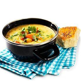 Fantastic hummus soup