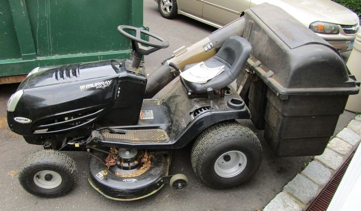 Murray Select Riding Lawn Mower With Rear Bagger Model