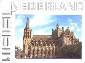 postzegel Sint Jan Den Bosch