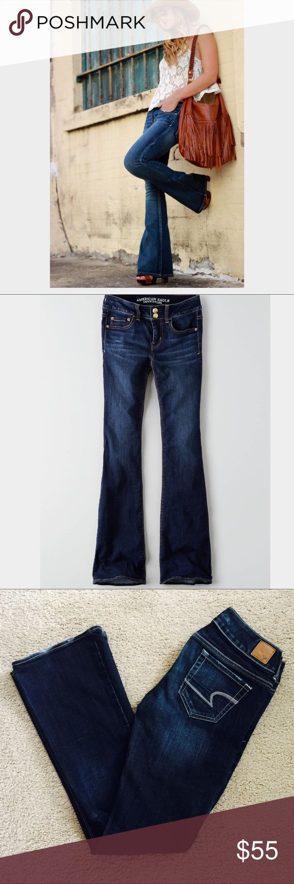 ❗️American Eagle Artist Dark Denim Jeans MSRP $88 ❗️American Eagle Artist Stretch Dark Denim Jeans. Retails $88 in great condition size 2. Feel free to make an offer! I'm giving to the first reasonable offer I receive & give great bundle deals! Spring cleanout sale--all must go! ;-) American Eagle Outfitters Jeans