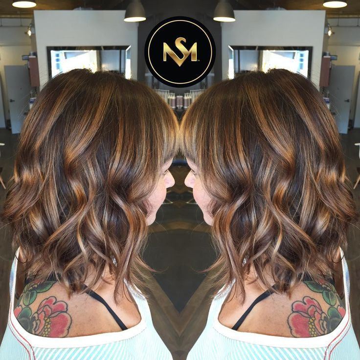 balayage hair dark brown medium length - Google Search ...