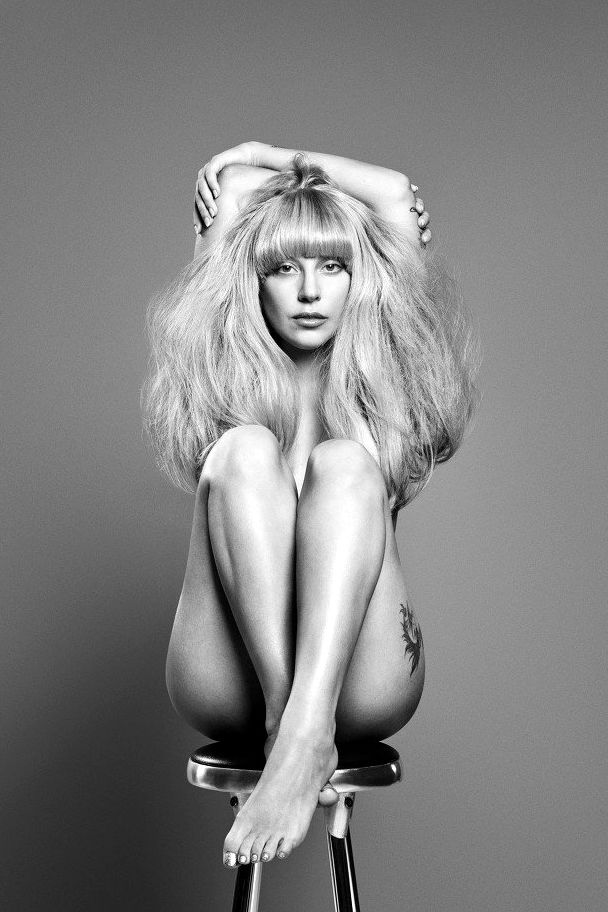 quentin-lady-gaga-nude-black-and-white