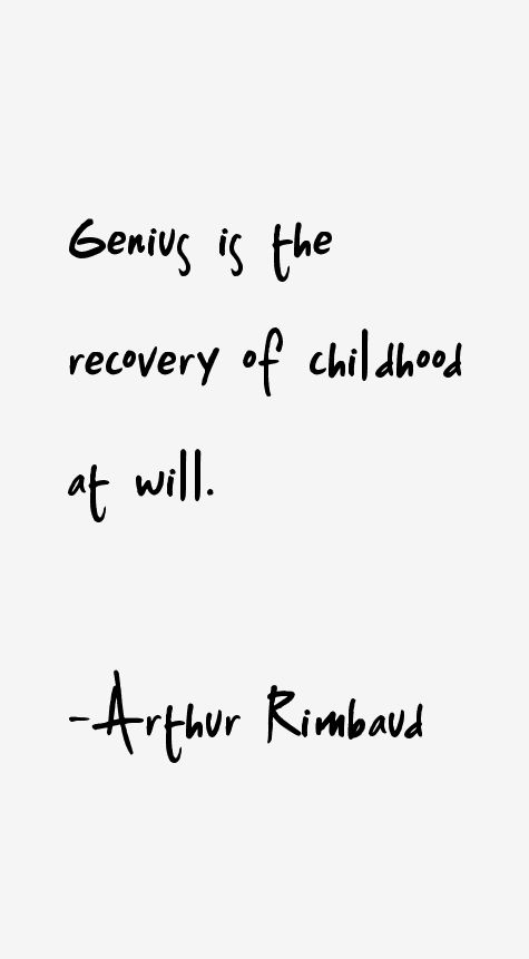 rimbaud quotes - Google Search