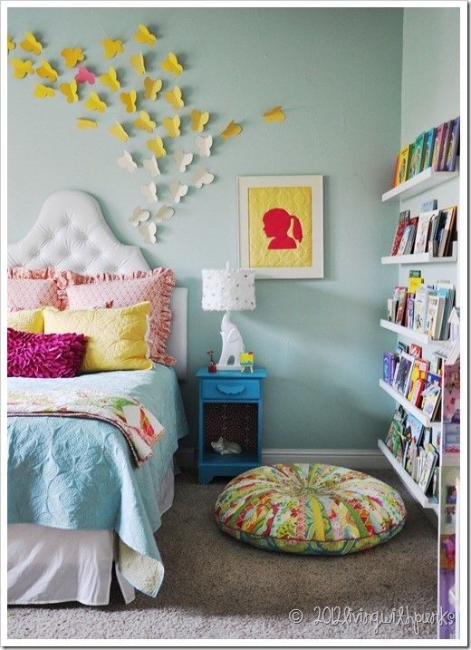 "Two Story Cottage: Sweet Little or ""Big"" Girl Bedrooms"