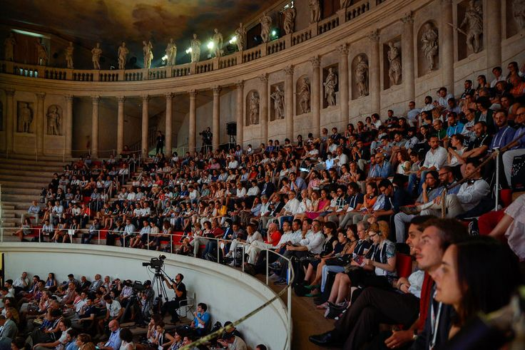 The audience at the theatre  #TEDxVicenza #PlantingTheSeeds #TEDx #Vicenza