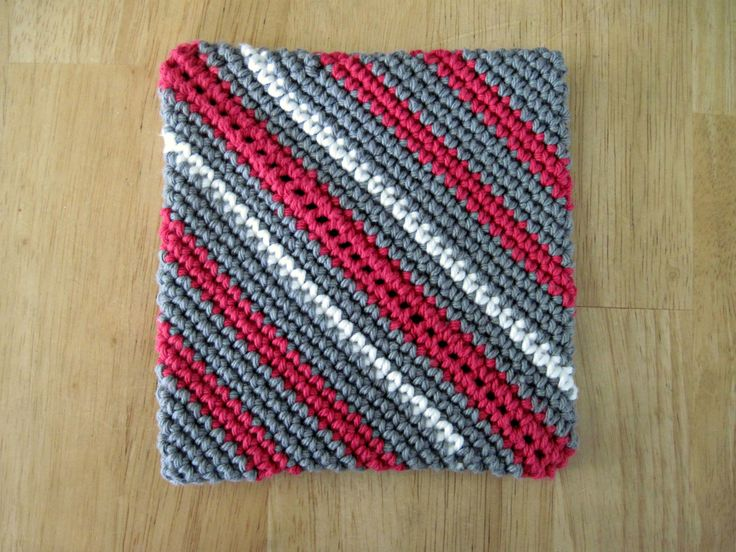 Crochet Overcast Stitch : 1000+ images about My Crocheted Potholders on Pinterest Fruit punch ...