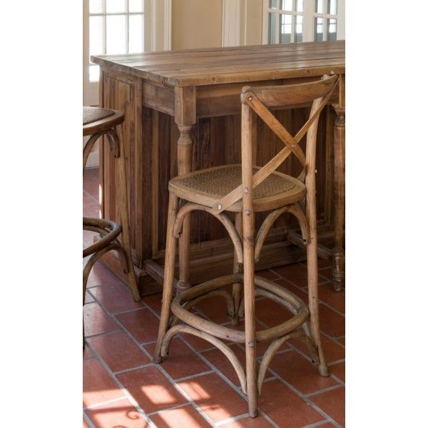 Our Cross Back Counter Stool Counter Stools Wood Counter Stools