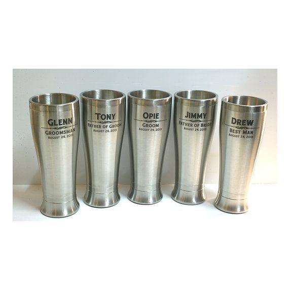 SET OF 10 Free Engraving, Engraved 16oz Stainless Steel Tumbler, Best Man Gift, Groomsman Gift, Birthday Gift, Fathers Day Gift, MUG-2-10 on Etsy, £120.43