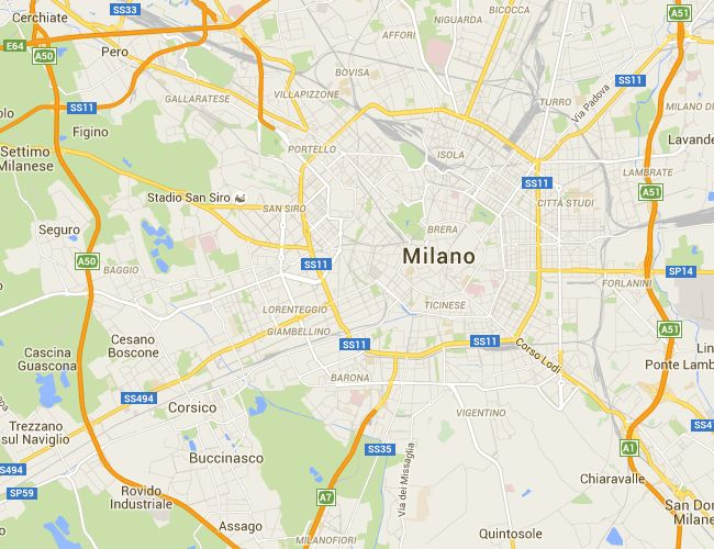 Piste ciclabili di Milano