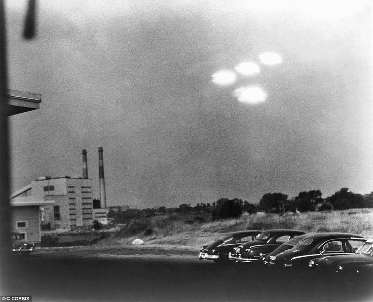 Four brightly glowing, unidentified objects appeared in the sky at 9:35 am.on July 15, 1952 over a parking lot in Salem, Massachusetts