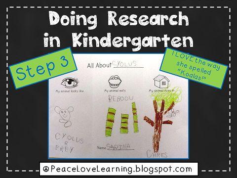 Kindergarten Research