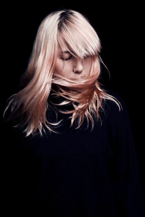 Peach hair: Peachy Hair, Hair Colors, Pink Hair, Haircolor, Katy Stelmani, Blondes, Posts, Hair Style, Wigs