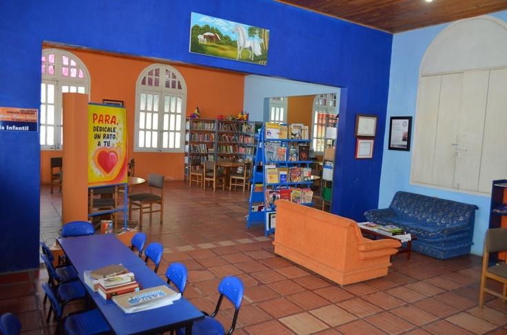 Biblioteca Pública Municipal de Cereté - Córdoba. Colombia.