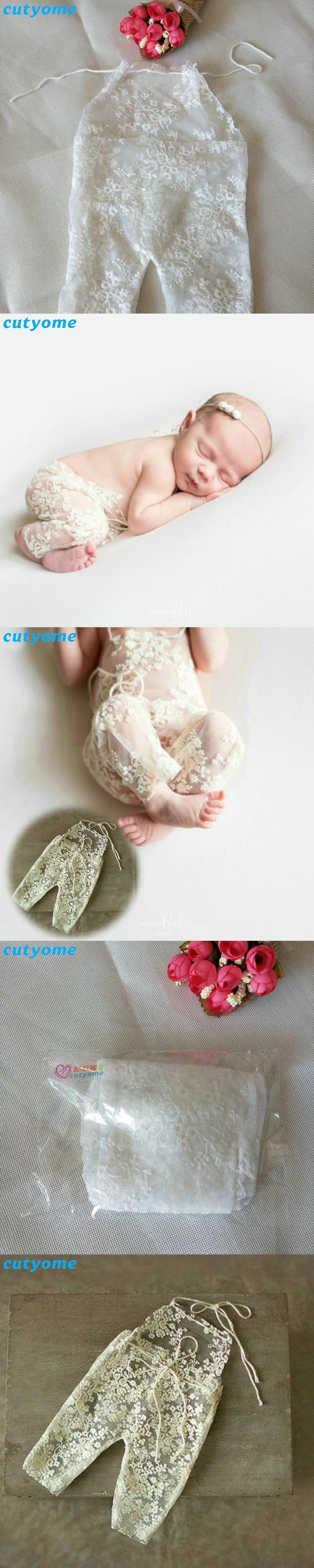 Baby Hat 2017 New Born Photography Accessories Baby Lace Romper Fotografia Princess Wraps Costumes Clothes For Infantil Girls