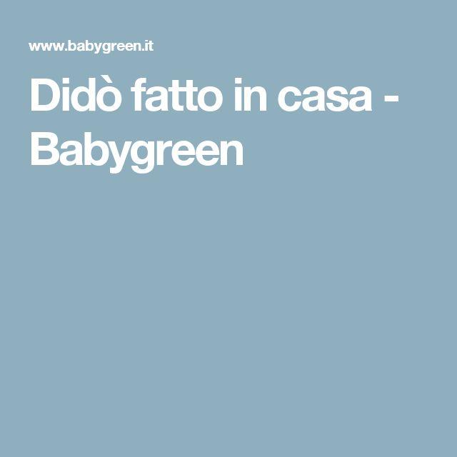 Didò fatto in casa - Babygreen