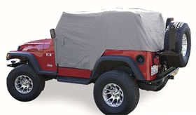 Vdp Jeep Full Monty Cab Covers - Jeep Accessories - Jeep Covers & Tonneau Covers - For when you are in too big a rush to put hard or soft top on but you have unexpected rain??