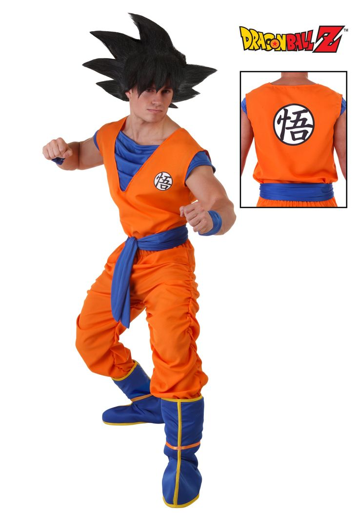 Adult goku costumes from dbz - Dessin costume ...
