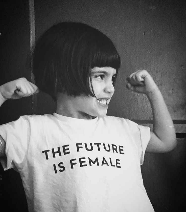 The future is female t-shirt #kids #feminism #style