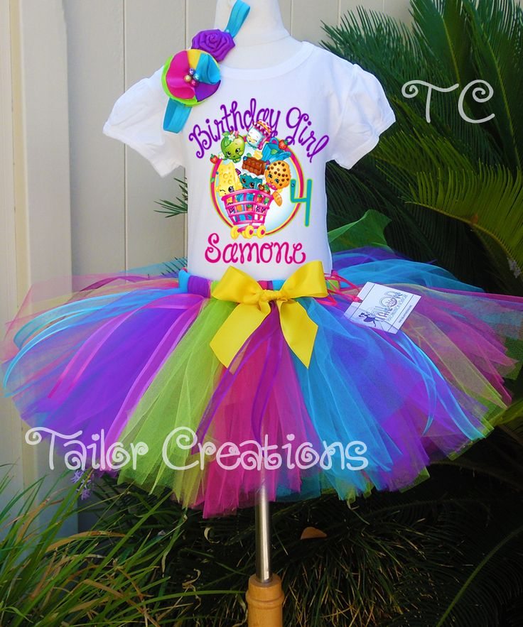 91 Best Images About Shopkins Birthday Party On Pinterest: 25+ Best Ideas About Birthday Tutu On Pinterest