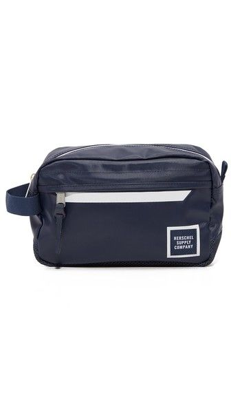 A simple-yet-stylish dopp kit for travel from Herschel Supply.