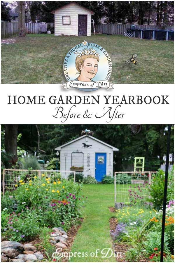 Want To See How A Garden Changes Year After Year? These Photos Show My  Backyard