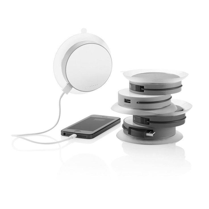 Port Window USB Solar Charger