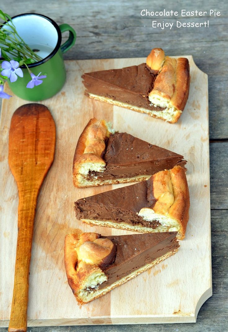 Chocolate Easter Pie