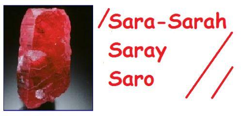 Significato del nome SARA  Il nome Sara ha origini ebraiche Sarah e significa signora, principessa. NellAntico Testamento, era la moglie di Abramo anche se il suo vero nome era Saray (
